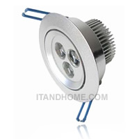 ��ʹ�����մ� � LED Downlight �ѧ��� 3W LEDTO-LD3W01