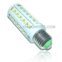 � LED 8W 360 ͧ�� 44 LED SMD Corn Light Bulb Lamp - E27 �� warm white LEDTO-LBC8WW