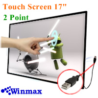�������� ��ŵԷѪ touch screen display ��Ҵ 17 ����  Winmax-17T