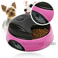 ����ͧ����������� ��� �ʹԨԵ�� �ժ��� Automatic Pet Feeder Pink ����ͧ���������ѵ��